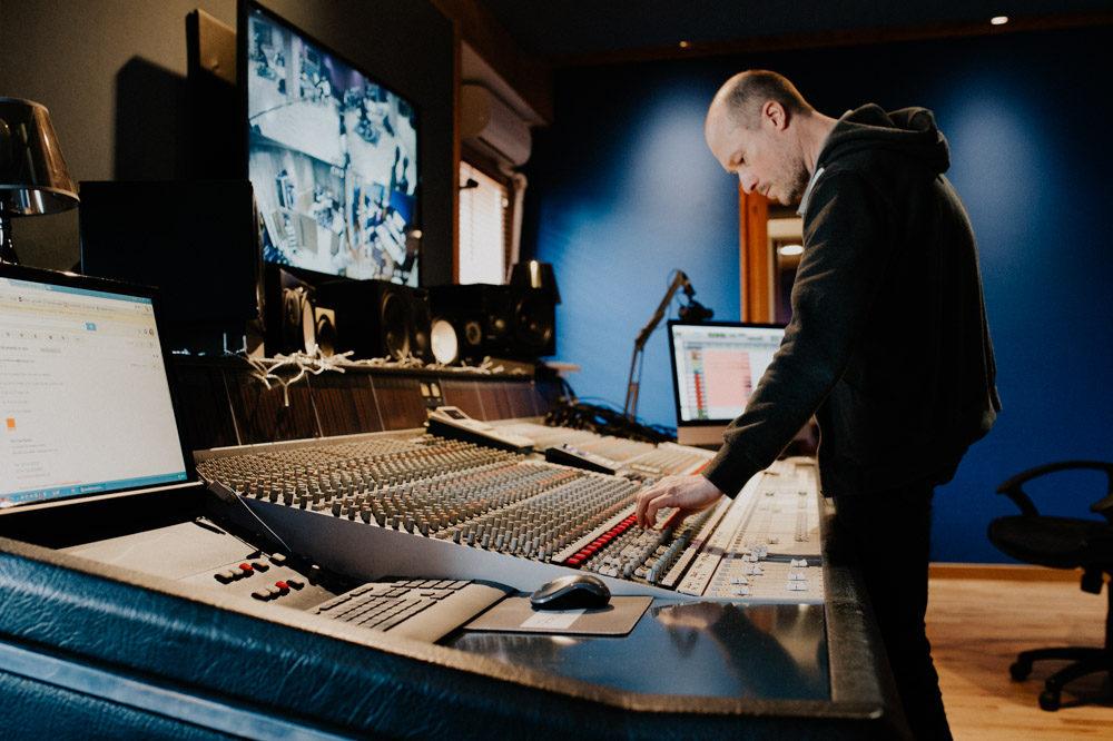 Reportage photo Toulouse - Enregistrement studio